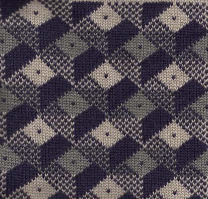 Optical Illusions Machine Knitting Designs