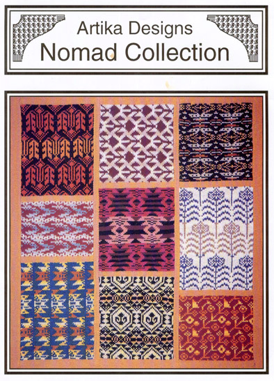 Nomad Collection Carpet And Textile Machine Knitting Designs