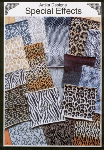 Zebra Print Knitting Pattern : Animal prints special effects knitting designs
