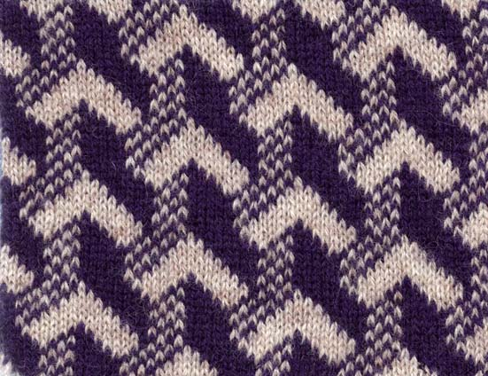 Patchwork Designs For Machine Knitting